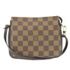 Louis Vuitton Damier Ebene Truth Makeup Pouch  (Pre Owned)