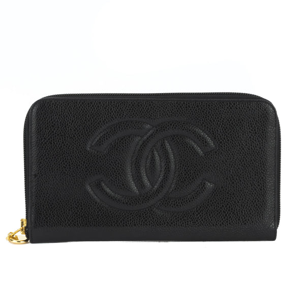 61020d595fb5 Chanel Black Caviar Zippy Wallet (Authentic Pre Owned) - 3093005 ...