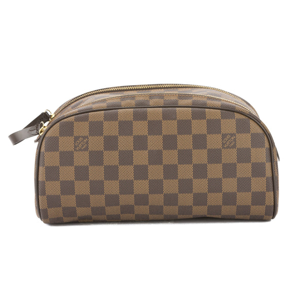 3b2bf8be Louis Vuitton Damier Ebene King Size Toiletry Bag (Pre Owned)