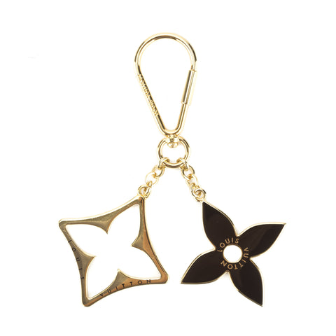 Louis Vuitton Gold Porte Cles Eclipse Key Holder/Bag Charm (Pre Owned)