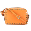 Valentino Peach Leather Rockstud Camera Bag (New with Tags)