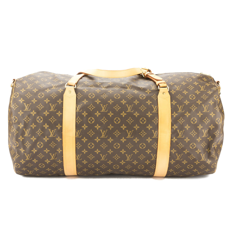 Louis Vuitton Monogram Sac Polochon Boston Bag (Pre Owned)
