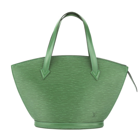 Louis Vuitton Borneo Green Epi Saint Jacques PM Bag (Pre Owned)