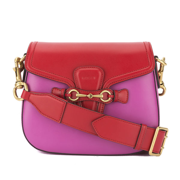 8d5084fedd95 Gucci Rosette Leather Lady Web Shoulder Bag (New with Tags ...