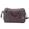 Louis Vuitton Aube Purple Monogram Empreinte Speedy 25 Bandouliere (Pre Owned)