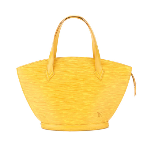 Louis Vuitton Tassil Yellow Epi Saint Jacques PM Bag (Pre Owned)
