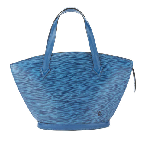 Louis Vuitton Toledo Blue Epi Saint Jacques PM Bag (Pre Owned)