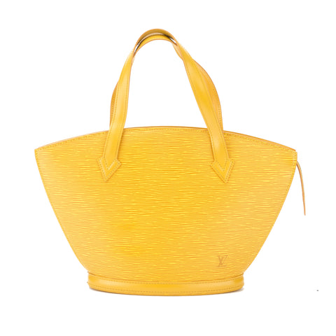 Louis Vuitton Yellow Epi Saint Jacques Shopping Tote (Pre Owned)