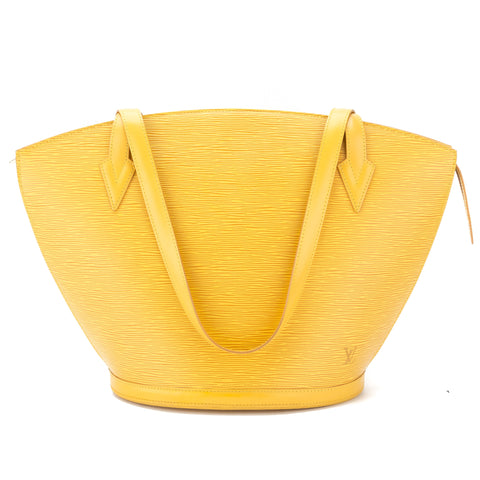 Louis Vuitton Tassil Yellow Epi Saint Jacques Shopping Tote (Pre Owned)