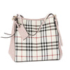 Burberry Pale Orchid Horseferry Check Small Canter Tote Bag (New with Tags)