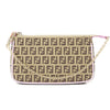Fendi Pink Zucca Crayons Pouchette (New with Tags)