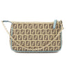 Fendi Blue Zucca Crayons Pouchette (New with Tags)