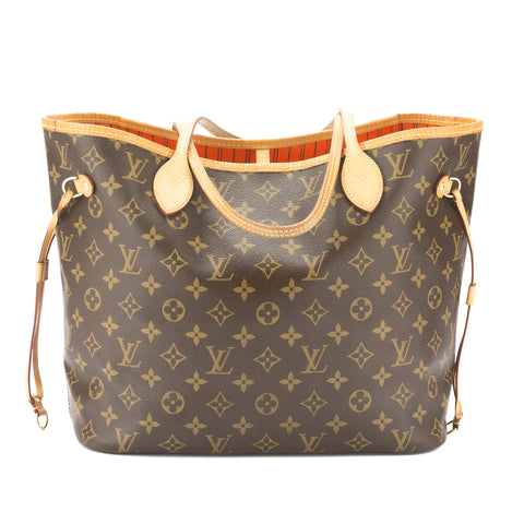 Louis Vuitton Cerise Monogram Neverfull MM Bag (Pre Owned)