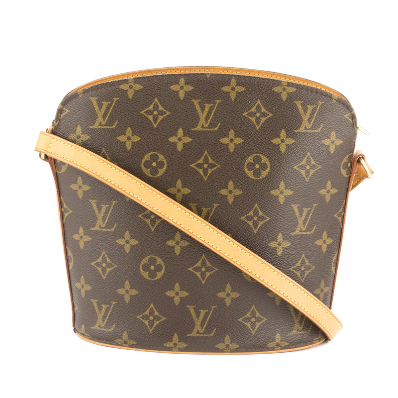 Louis Vuitton Monogram Drouot Bag (Pre Owned)
