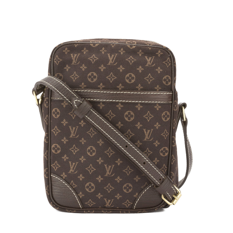 Louis Vuitton Mini Lin Danube Shoulder Bag (Pre Owned)