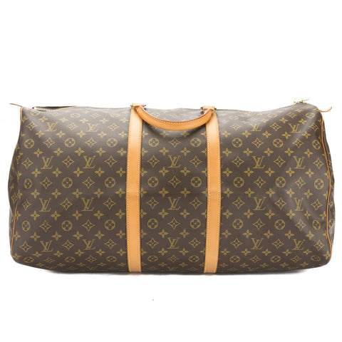 Louis Vuitton Monogram Keepall 60 Boston Bag (Pre Owned)