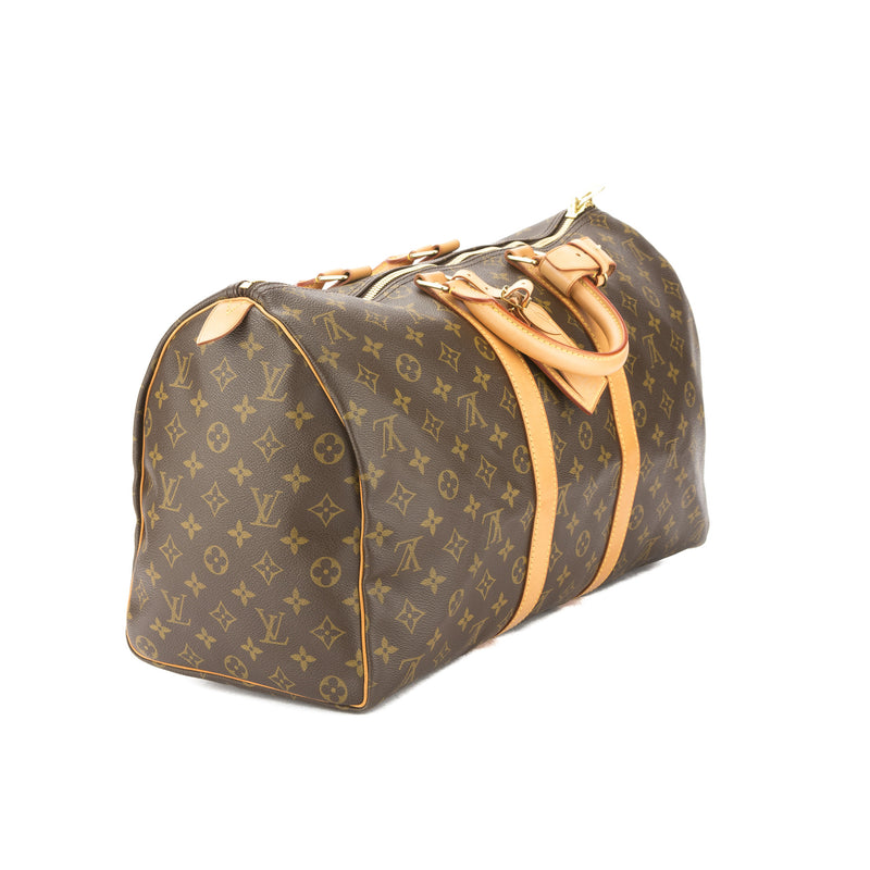 Louis Vuitton Monogram Keepall 45 Boston Bag (Pre Owned)