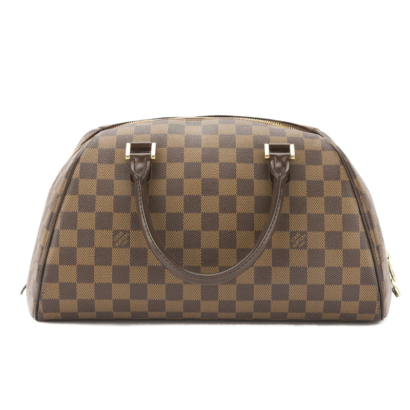 Louis Vuitton Damier Ebene Rivela MM Bag (Pre Owned)