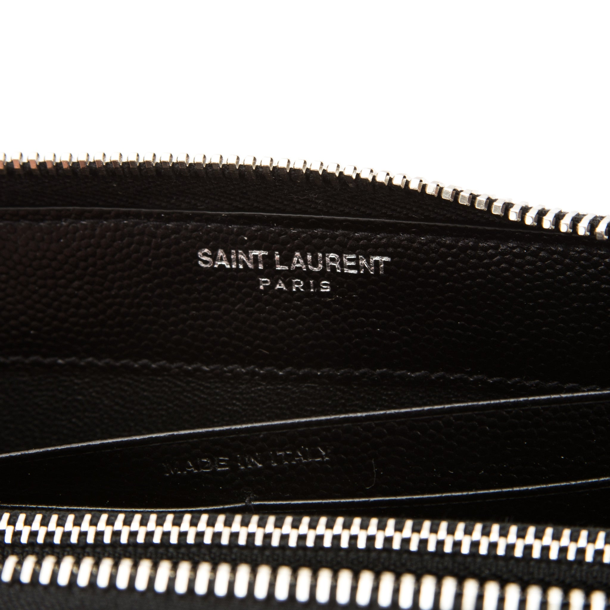 ysl black purse - Saint Laurent Black Grain De Poudre Textured Matelasse Monogram ...