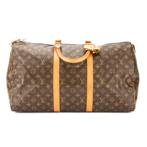 Louis Vuitton Monogram Keepall 50 Bag (Pre Owned)
