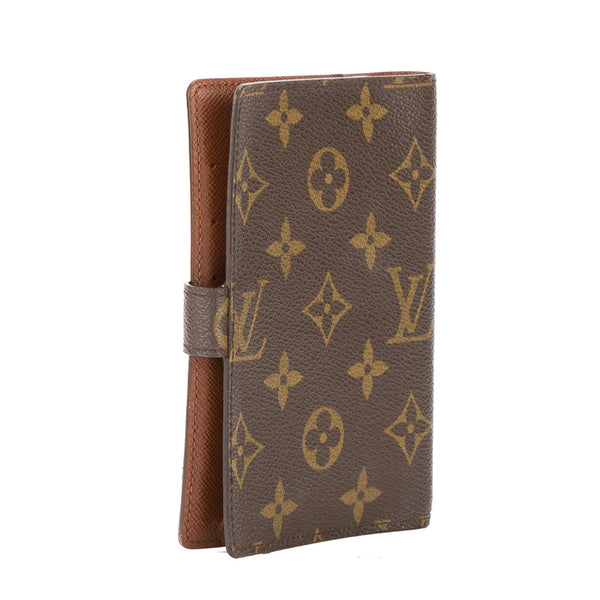 louis vuitton monogram agenda pm day planner cover  pre owned
