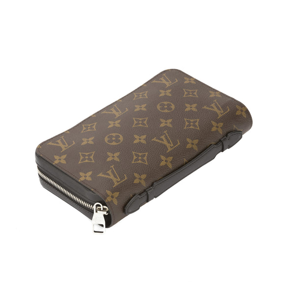 1f299c0d6c0a Louis Vuitton Monogram Macassar Zippy XL Wallet (Pre Owned ...