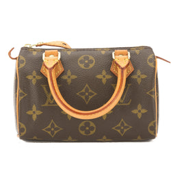 Louis Vuitton Monogram Mini Speedy Bag (Pre Owned)