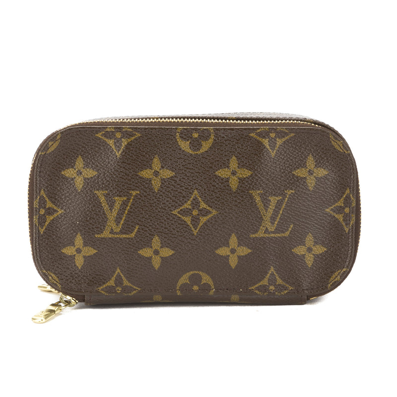 Louis Vuitton Monogram Trousse Blush PM Cosmetic Pouch (Pre Owned)