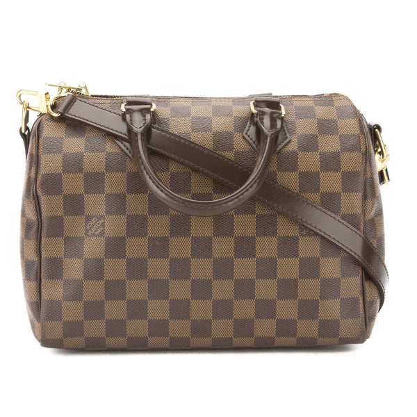 ac628d97d8e6 Louis Vuitton Damier Ebene Speedy Bandouliere 25 Bag (Pre Owned ...