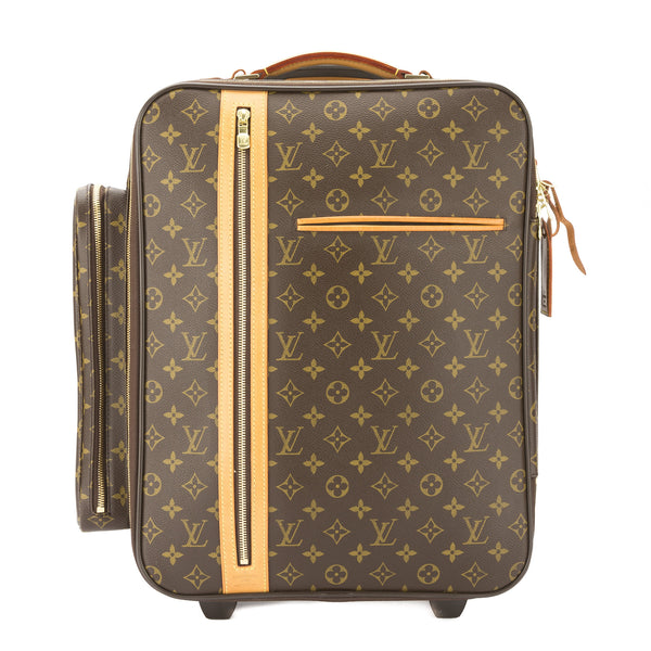 louis vuitton monogram bosphore trolley 50 rolling luggage pre owned 3158009 luxedh. Black Bedroom Furniture Sets. Home Design Ideas