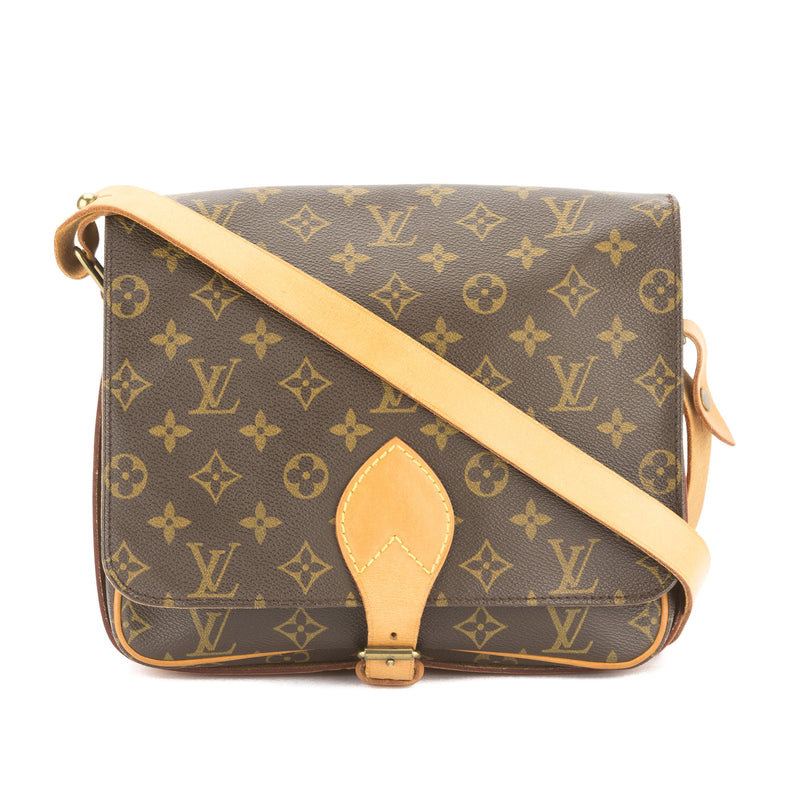 Louis Vuitton Monogram Cartouchiere GM Bag (Pre Owned)