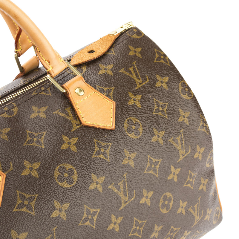 Louis Vuitton Monogram Speedy 35 Bag (Pre Owned)