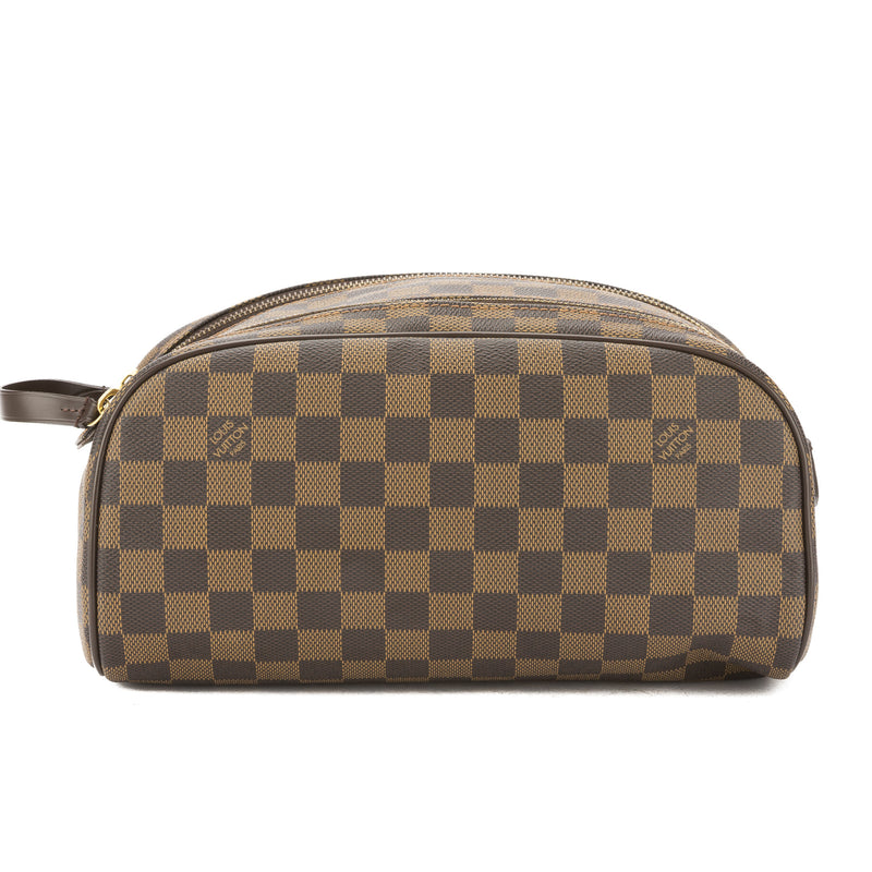 Louis Vuitton Damier Ebene King Size Toiletry Bag (Pre Owned)