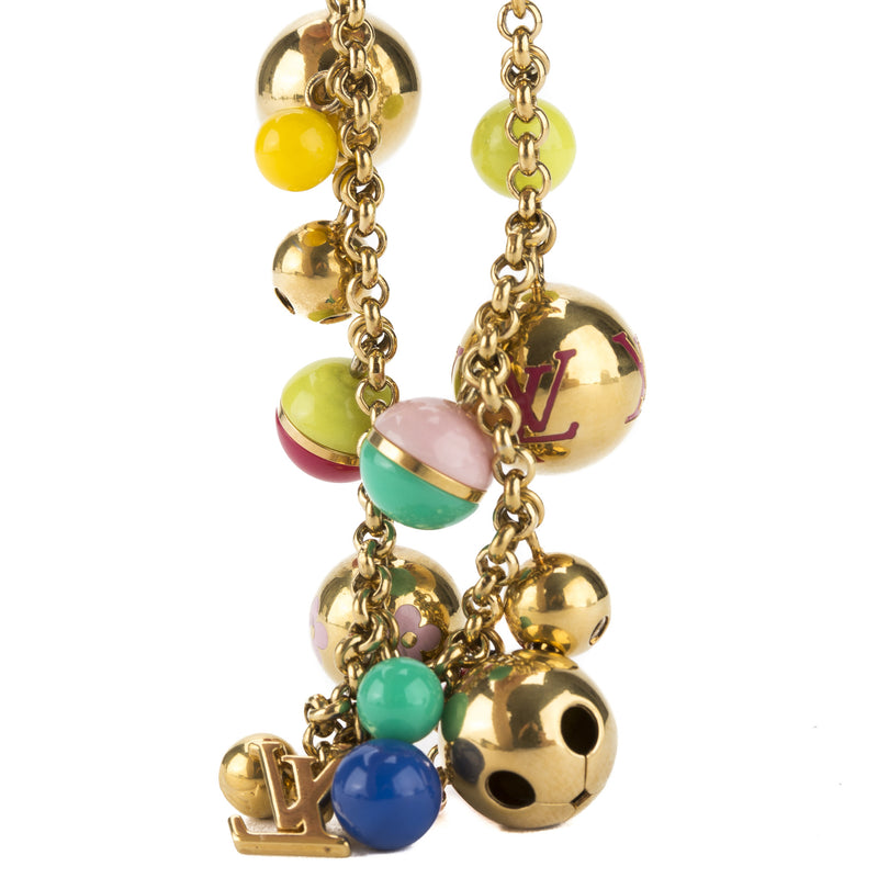 Louis Vuitton Multicolor Porte Cle Chaine Grelots Bag Charm (Pre Owned)