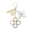 Louis Vuitton Gold and  Silver Bijoux Sac Tapage Bag Charm (Pre Owned)