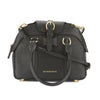 Burberry Black Leather Small Milverton Bowling Bag (New with Tags)