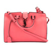 Saint Laurent Lipstick Fuchsia Leather Baby Monogram Cabas Bag (New with Tags)