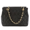 Chanel Black Caviar Chain Shoulder Bag (Pre Owned)