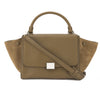 Celine Camel Leather Small Trapeze Handbag (New with Tags)