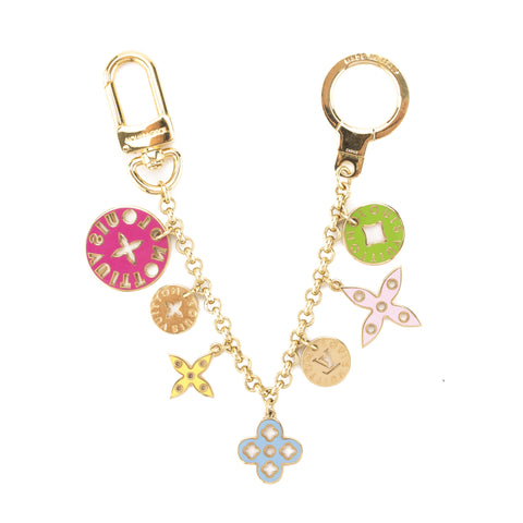 Louis Vuitton Multicolore Porte Cles Chain Looping Bag Charm (Pre Owned)