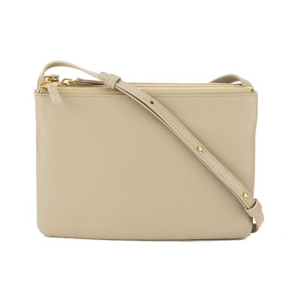 89c5158ac5f7 Celine Beige Lambskin Trio Shoulder Bag (New with Tags) - 3198008 ...