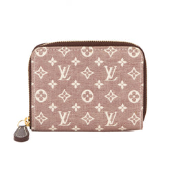 Louis Vuitton Red Monogram Idylle Zippy Coin Purse (Pre Owned)