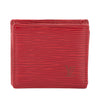 Louis Vuitton Castillian Red Epi Porte Monnaie Boite Coin Case (Pre Owned)