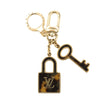 Louis Vuitton Gold Metal Confidence Bag Charm and Key Holder (Pre Owned)