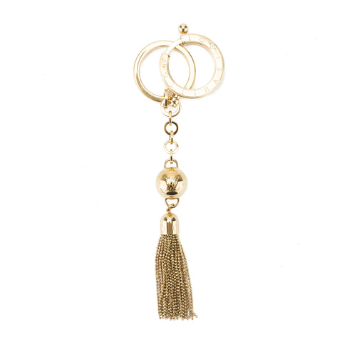 Louis Vuitton Gold Metal Swing Key Holder and Bag Charm (Pre Owned)