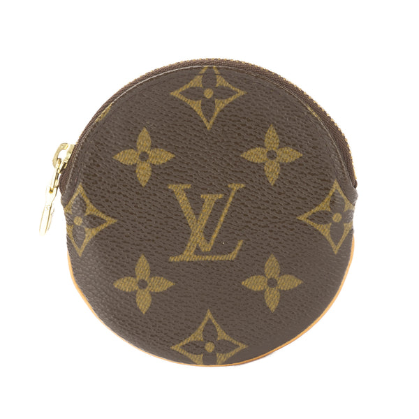 louis vuitton monogram porte monnaie ronde coin case pre owned 3224004 luxedh. Black Bedroom Furniture Sets. Home Design Ideas