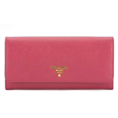 Prada Blush Saffiano Leather Wallet On Chain Bag (New with Tags)