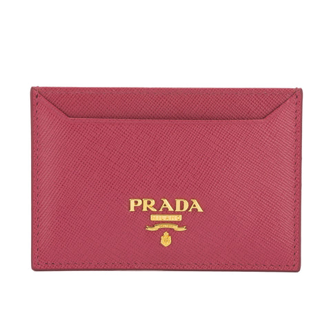 Prada Blush Saffiano Leather Credit Card Holder (New with Tags)
