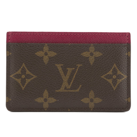 Louis Vuitton Monogram Card Holder (Pre Owned)