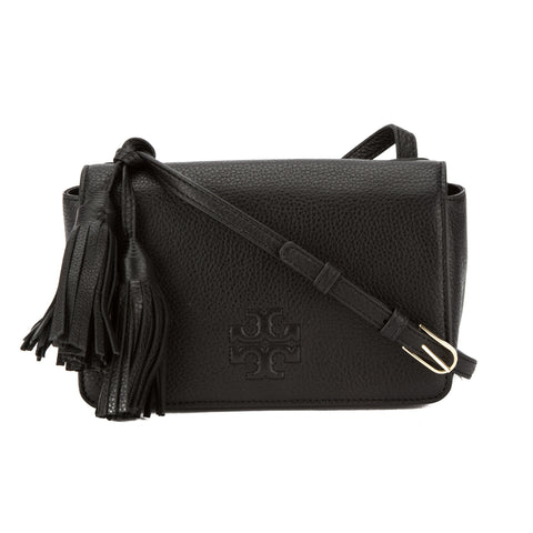 Tory Burch Black Leather Thea Mini Bag (New With Tags)